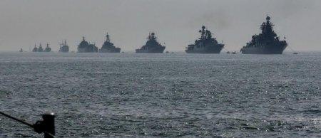 Rusiyanın 50 gəmisi Xəzərdə - MÜHARİBƏ SSENARİSİ