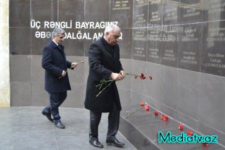Füzulidə 20 Yanvar facəsinə həsr olunan anım mərasimi keçirildi - FOTOLAR