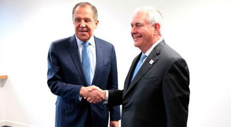 Lavrov və Tillerson görüşdü