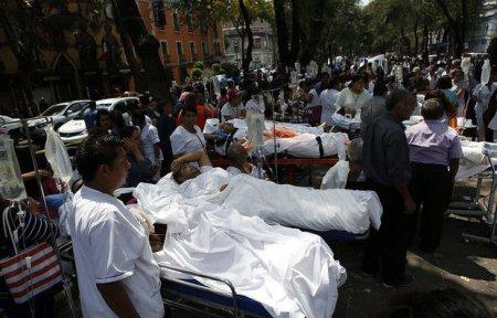 Meksikada zəlzələ qurbanlarının sayı 230-a çatdı