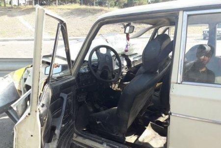 Bakı prospektində 3 avtomobil toqquşdu: Ölən var