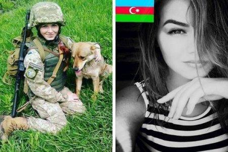 Azərbaycanlı qadın hərbçi Donetskdə partlayış zamanı öldü – FOTO