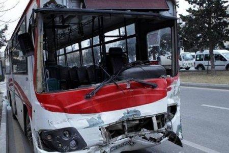 Bakıda baş vermiş avtobus qəzalarında yaralananların sayı açıqlandı