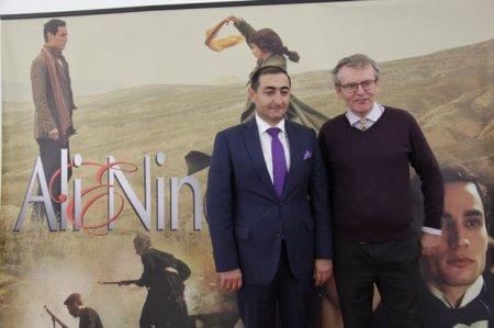 """Litvada """"Əli və Nino"""" filminin təqdimatı oldu – FOTO"""