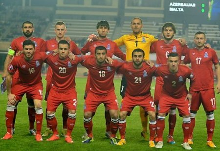 Azərbaycan millisinin oyunlarının başlama saatları açıqlandı